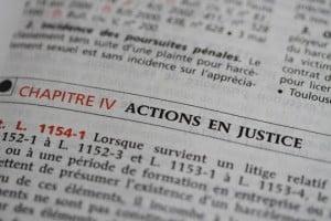 actions en justice