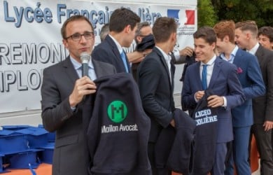 Morillon Avocats y el liceo francés Molière de Madrid